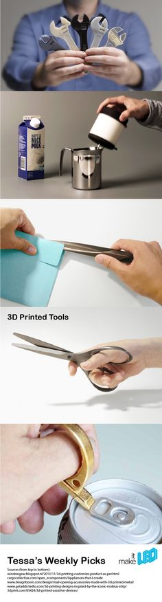 5 3D printed tools for daily use | Tessa's Weekly Picks