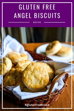 These gluten free angel biscuits are perfect for hungry tummies! So tender and with an amazing texture. they're quick to make and they'll quickly become a favorite! Gluten Free Quick Bread, Gluten Free Rolls, Gluten Free Snacks, Gluten Free Baking, Dairy Free Recipes, Bread Recipes, Yeast Biscuits, Angel Biscuits, Gluten Free Biscuits