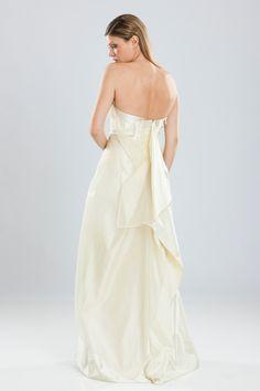 Wedding dress by MICHEL MAYER Designer, One Shoulder Wedding Dress, Wedding Dresses, Fashion, Bride Gowns, Wedding Gowns, Moda, La Mode, Weding Dresses