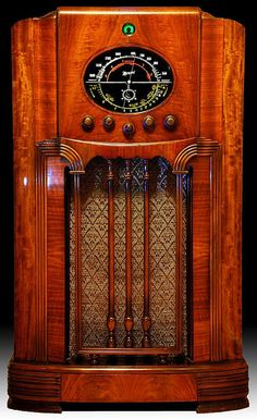 One Of A Kind Marconi Radio by Gerrys Album, via Flickr