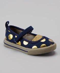 Take a look at this Carter's Denim Cheren Mary Jane on zulily today!