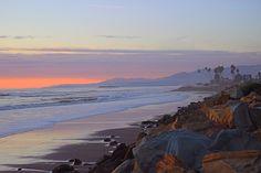 Hobson Beach Sunrise - Santa Barbara News - Edhat