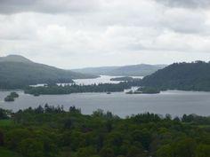 Lake District. Windermere.