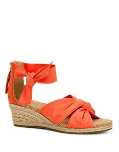 Designer Clothes, Shoes & Bags for Women Orange Sandals, Orange Shoes, Orange Orange, Orange Wedges, Shoes Heels Wedges, Ugg Shoes, Shoes Sandals, Zapatos
