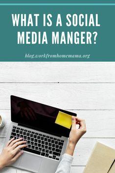 Social Media Manager l Work From Home l Remote Work l Digital Marketing l Side Hustle l Virtual Assistant