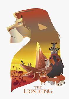 ArtStation - The Lion King Illustration Poster, Cristhian Hova The Lion King 1994, Lion King Fan Art, Lion King 2, Lion King Movie, The Lion King Musical, The Lion King Characters, Simba Disney, Disney Lion King, Lion Wallpaper