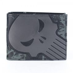Punisher Black Logo Bi-Fold Wallet