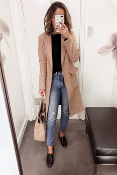 90 Sophisticated Work Attire and Office Outfits for Women to Look Stylish and Chic - Lifestyle State Casual Work Outfits, Business Casual Outfits, Office Outfits, Mode Outfits, Work Casual, Office Wear, Casual Office, Office Style, Business Attire