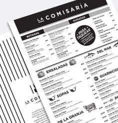 Menu #graphidesign #restaurant