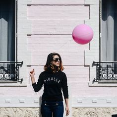 Anna Dawson, Pigalle, The 4, Selfie, London, Paris, Rose, Instagram Posts, Inspiration