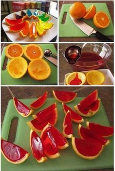 Oranges and jelly! Awesome idea