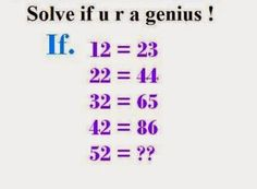 133 Best Maths Puzzles images in 2013 | Math puzzles brain teasers