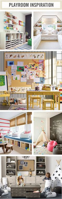 | kids playroom inspiration |