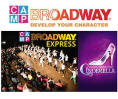 GIVEAWAY: Enter to Win a Ticket to Camp Broadway Express: Cinderella on Oct. 18th at the Rialto dowtown (for kids 10 to 17)
