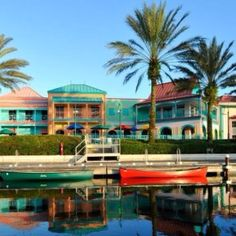 Relax At Disney S Caribbean Beach Resort In The Colorful Villages Lush Gardens And White Sand Beaches