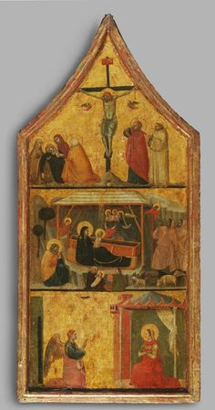 Philadelphia Museum of Art - Collections Object : Crucifixion, Nativity, and Annunciation Padua Italy, Isaiah 55, Carolingian, Medieval Paintings, Philadelphia Museum Of Art, 3 Arts, Romanesque, Gothic Art, 14th Century