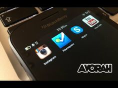 How To Install Instagram On BlackBerry Z10 And Q10 - YouTube