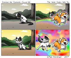 Ichabod the Optimistic Canine comic collection Funny Animal Jokes, Animal Memes, Funny Animals, Cute Animals, Dog Comics, Cute Comics, Funny Comics, Cute Animal Drawings, Cute Drawings