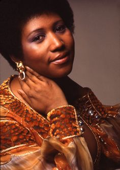 """The Queen of Soul...Aretha Franklin! """"The moment I wake up - Before I put on my makeup - I say a little pray for you..."""""""