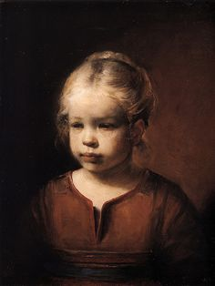 """Nora, 1981 by Odd Nerdrum Nora 1981, 60 x 45 cm """"When I paint from nature, First I win the effect. Then I win the likeness, but lose the effect. After a long time I win something I can't define""""."""