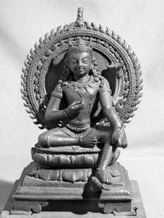Manjusri, Pala Period, 10th c. Patna Museum  Huntington Archive