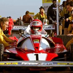 Niki Lauda, Ferrari 312, 1976