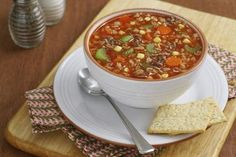 Hearty Alphabet Vegetable Beef Soup: Alphabet Soup with Beef and Vegetables