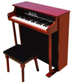 37 Key Traditional Deluxe Spinet Piano | Schoenhut Toy Piano