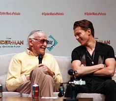 Tom with Stan Lee