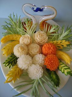 Thai Carving Centerpieces | Flickr - Photo Sharing!