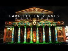 Parallel Universes - Projection Mapping on Bolshoi Theatre by Maxin10sity - YouTube