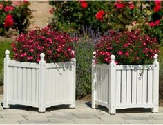 The Solid Wood Lexington Planter Box is a traditionally styled outdoor planter y - traditional - outdoor planters - by Hayneedle