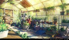 Greenhouse by Tohad.deviantart.com on @DeviantArt
