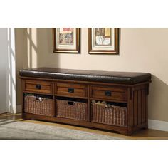 Coaster Oak Large Storage Bench with Baskets Coaster Home Furnishings http://www.amazon.com/dp/B003TPEALS/ref=cm_sw_r_pi_dp_4o.1tb1D2NZ9XKQC