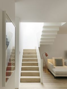 House Bloomsbury | Staircase design by modern architects Stiff and Trevillion
