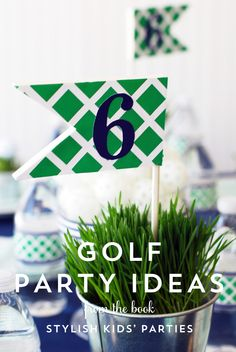 golf party ideas intro
