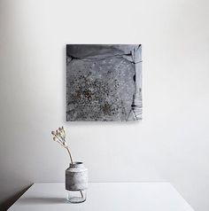 Original Kunst abstrakte Malerei-Struktur-Malerei auf von ComArt