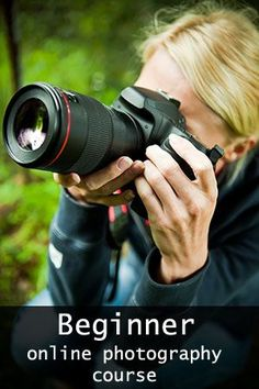 beginner online photography course
