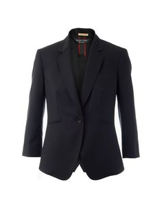 Believe it or not this is definitely a women's blazer! I like how it sort of blurs the line between menswear and women's wear. The single button provides a sophisticated look but I like the idea of wearing a flirty top underneath.