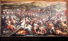 vasari's battle of marciano | Palazzo Vecchio Florence ...