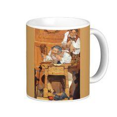 Old Fezziwig Classic White Coffee Mug