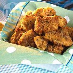 Nuggets de frango assados @ allrecipes.com.br
