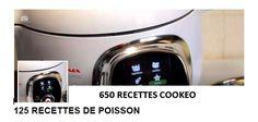 125 recettes cookeo de poissons : le PDF à télécharger