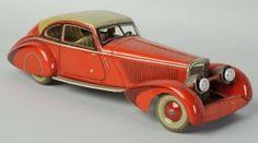 German Tin Litho Tippco Mercedes.