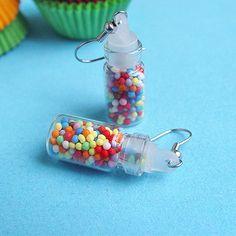 Rainbow Candy Jar Earrings $18