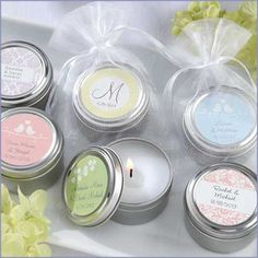 Personalized Candle Tin (Wedding) Original Price: As low as $1.60 Sale Price: $1.36 (15% off)
