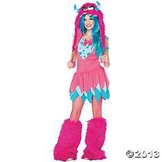 Mischief Monst Teen Girl's Costume
