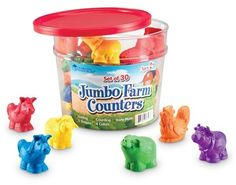 #ad. Learning Resources Jumbo Farm Counters