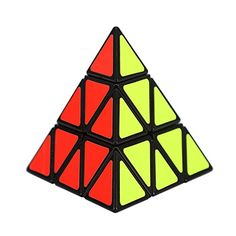 Ottertooth Rubik's Cube, Pyraminx Pyramid Speed Smooth Puzzle Cube, for Intelligence Development, Black * You can get additional details at
