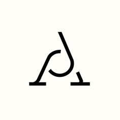 AJ Ad Monogram designed by Richard Baird. (Available) #logo #design